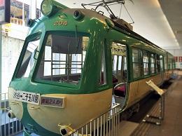 電車とバスの博物館の写真